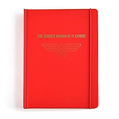 DC Super Hero Girls - Wonder Women Red A5 notebook planner