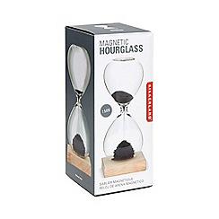 Kikkerland - Beechwood and glass desktop hour glass
