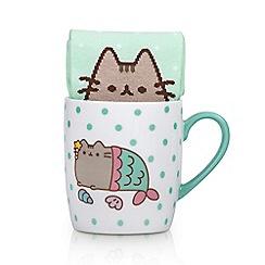 Pusheen - Pusheen mermaid mug and socks set