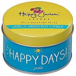 Happy Jackson - Happy days candle