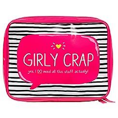 Happy Jackson - Girly crap wash bag