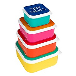 Happy Jackson - Snack box set of 4