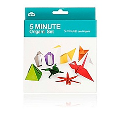 Debenhams - Origami set - 5 minute