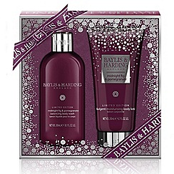 Baylis & Harding - Midnight Fig and Pomegranate Bathing Essentials Set