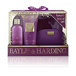 Baylis & Harding - Wild Blackberry and Apple Luxury Travel Set