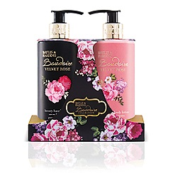 Baylis & Harding - Boudoire Velvet Rose Hand Wash and Lotion Set