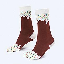 DOIY - Icepop chocolate socks