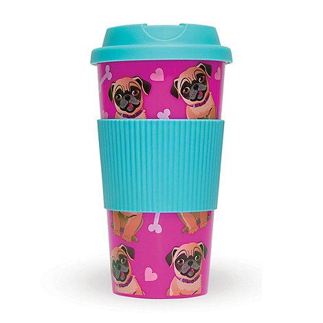 Debenhams - Pug travel mug