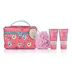 Disney - Tinkbell Travel Case & Body Dazzle Gift Set