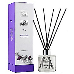 Scottish Fine Soaps - Larch and lavender reed diffuser 100ml