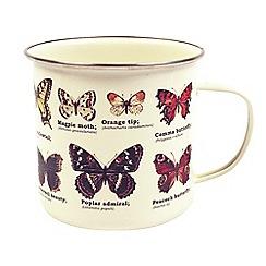 Gift Republic - Butterfly Enamel Mug