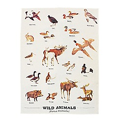 Gift Republic - Wild Animals Tea Towel