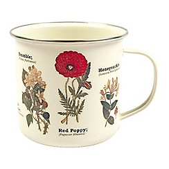 Gift Republic - Wild Flowers Enamel Mug