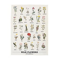 Gift Republic - Wild Flowers Tea Towel