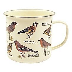Gift Republic - Garden Birds Enamel Mug