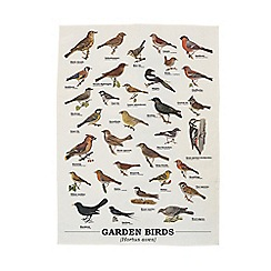 Gift Republic - Garden Birds Tea Towel