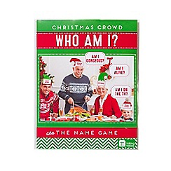 Talking Tables - Christmas entertainment Who Am I