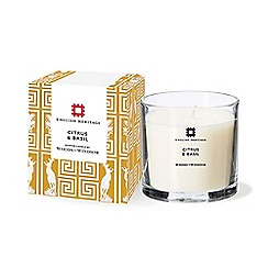 Woods of Windsor - English Heritage Citrus and Basil Candle