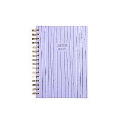 Debenhams - Awesome words velvet bound journal