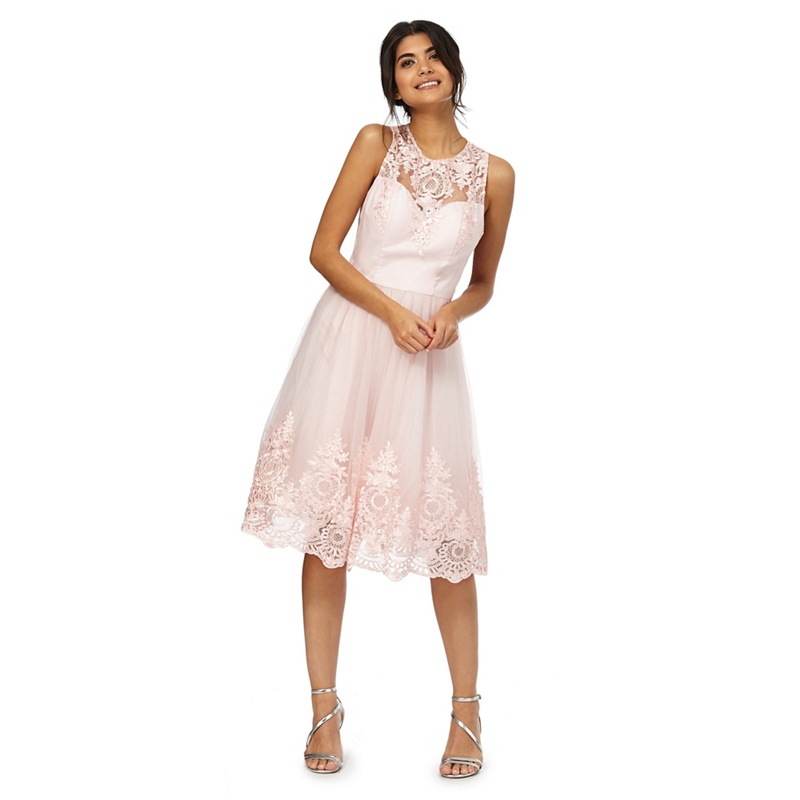 Pink Coloured Occasion Outfits And Dresses 2017 Pink