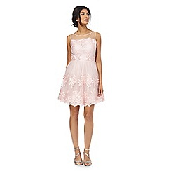 Chi Chi London - Pink 'Zana' lace dress