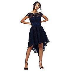 Chi Chi London - Navy 'Derlyn' lace dress