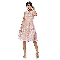 Chi Chi London - Pink 'Liviah' lace dress