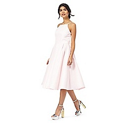 Chi Chi London - Pink 'Iryana' sleeveless dress