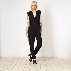 Lipsy - Kardashian Kollection black mesh back jumpsuit
