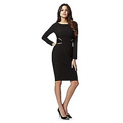 Lipsy - Kardashian Kollection black cutout bodycon dress