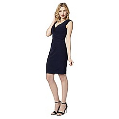 Lipsy - Navy lace insert shift dress