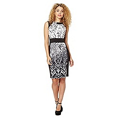 Lipsy - VIP black graduating animal print dress