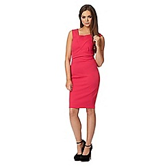 Lipsy - Michelle Keegan loves Lipsy pink asymmetric bodice dress