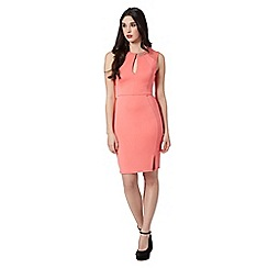Lipsy - Coral chain detail bodycon dress