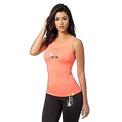 Lipsy - Pink logo running vest