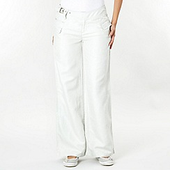Duck and Cover - Light grey trousers