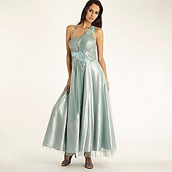 Pearce II Fionda - Blue 'Mermaid' ball gown