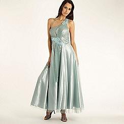 Pearce II Fionda - Blue 'Mermaid' ball gown