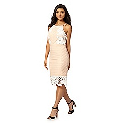 Lipsy - Michelle Keegan loves Lipsy natural lace strap dress