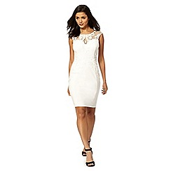 Lipsy - Michelle Keegan loves Lipsy white lace dress
