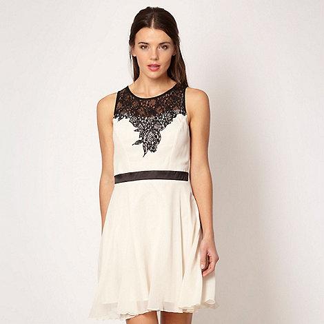 Lipsy - Black lace top dress