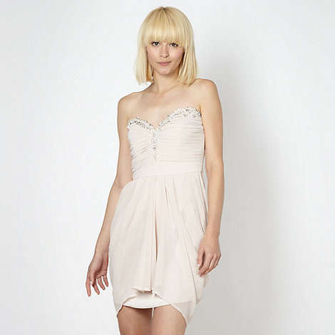 Lipsy - VIP light pink embellished dress