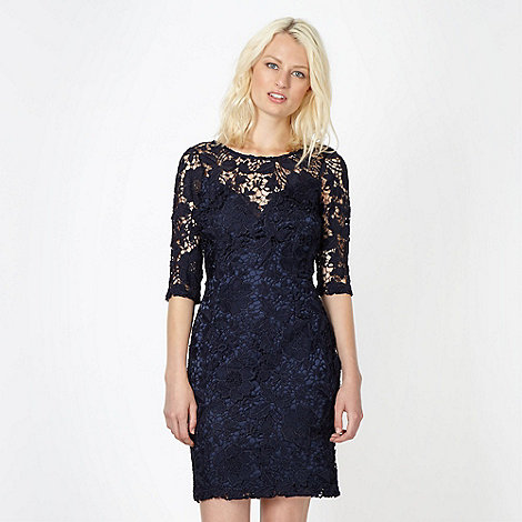 Lipsy - Navy lace dress