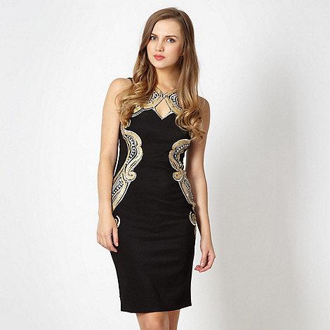 Lipsy - Black sequin dress