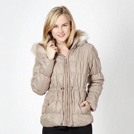 Lipsy - Beige padded parka jacket