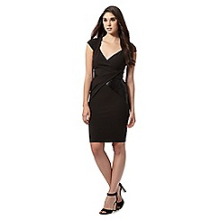 Lipsy - Black wrap dress