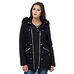 Lipsy - Michelle Keegan loves Lipsy navy parka jacket