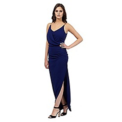 Lipsy - Michelle Keegan loves Lipsy navy grecian maxi dress