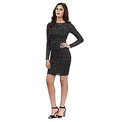 Lipsy - Black cowl back dress