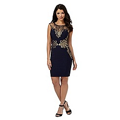Lipsy - Michelle Keegan loves Lipsy navy sleeveless lace detail dress